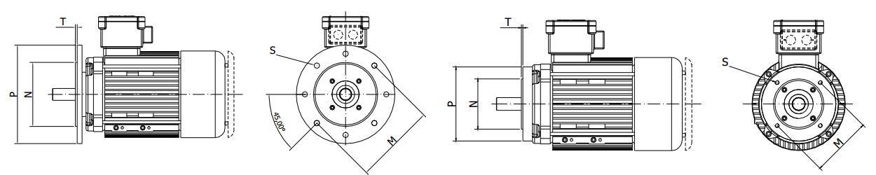 Взрывозащищенный электродвигатель схема