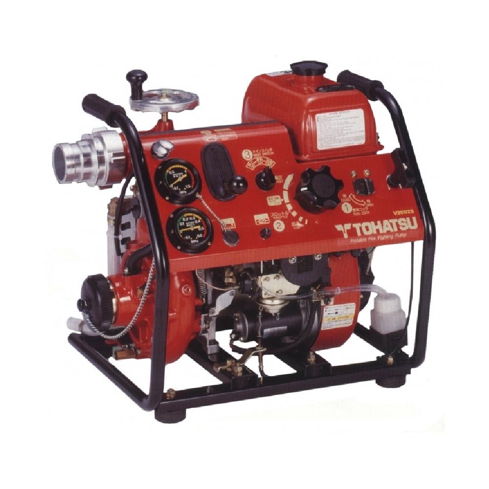 Бензиновые пожарные мотопомпы